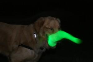 green tongue